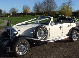Beauford wedding car hire in Ascot